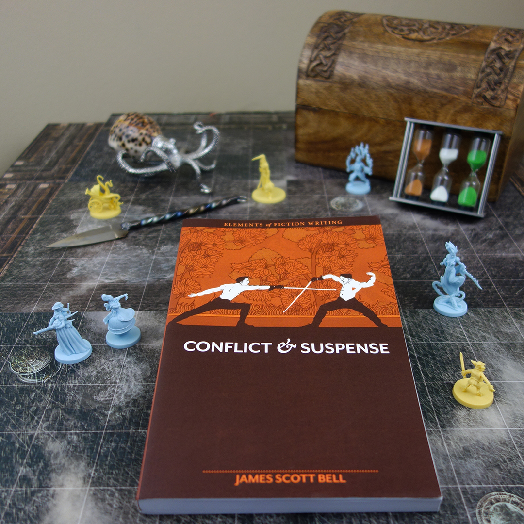 Conflict & Suspense ~ A Book For Fiction Writers By James Scott Bell [Book Review]